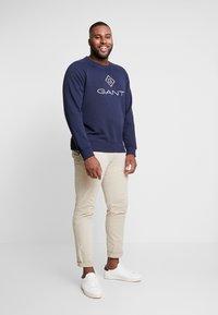 GANT - PLUS LOCK UP NECK  - Sweatshirt - evening blue - 1