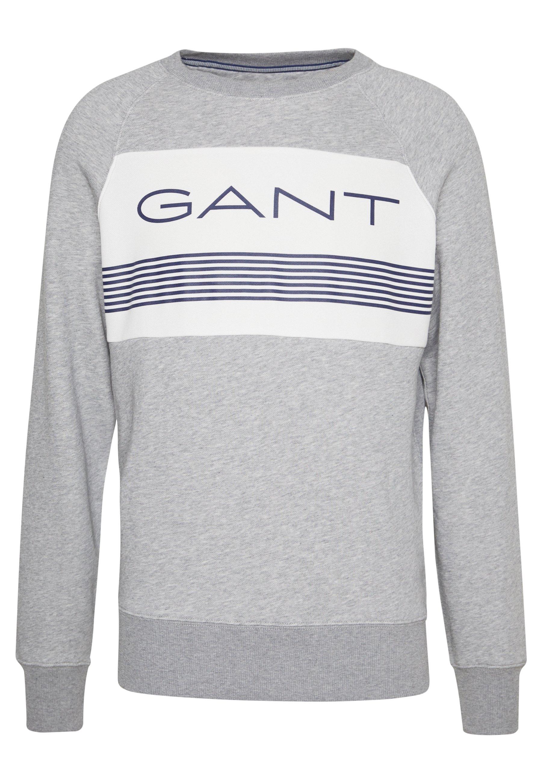 GANT Crew Neck Sweatshirt Black hos