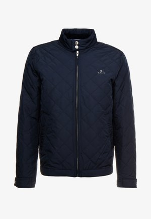 THE QUILTED WINDCHEATER - Välikausitakki - evening blue