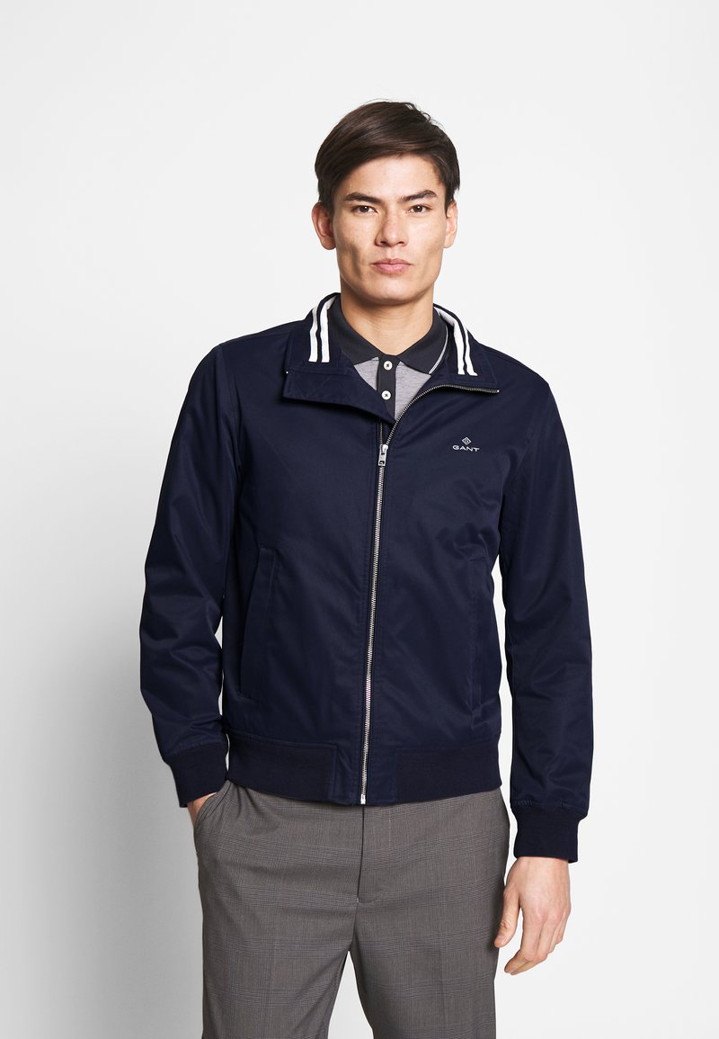 GANT - THE SPRING HAMPSHIRE JACKET - Lehká bunda - evening blue