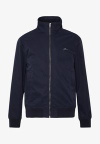 GANT - THE SPRING HAMPSHIRE JACKET - Lehká bunda - evening blue - 4