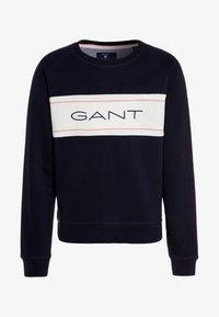 GANT - ICON C-NECK - Sweatshirt - evening blue - 0