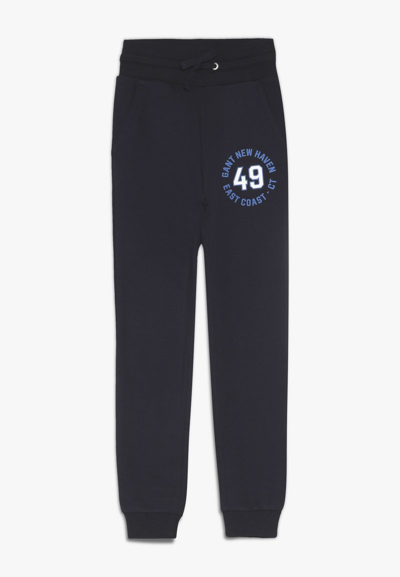 GANT - GANT LOGO PANTS - Jogginghose - evening blue