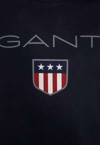 GANT - SHIELD LOGO  - T-shirt med print - evening blue - 2