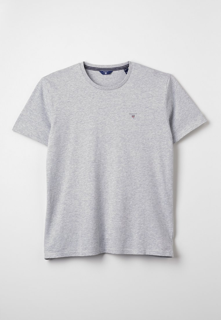 GANT - THE ORIGINAL  - Basic T-shirt - light grey melange