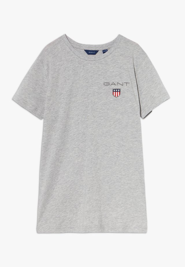 MEDIUM SHIELD  - Camiseta básica - light grey melange
