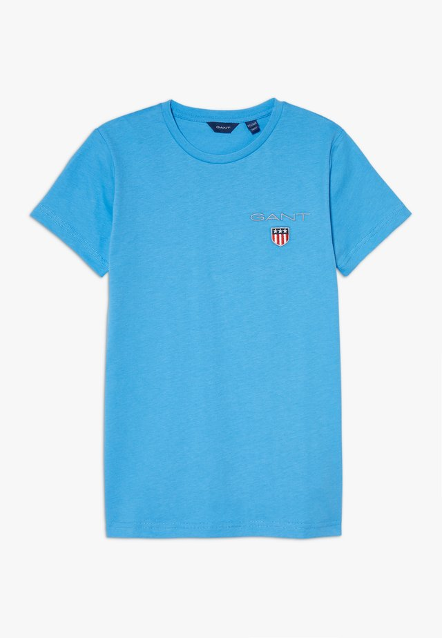 MEDIUM SHIELD  - T-shirt - bas - pacific blue