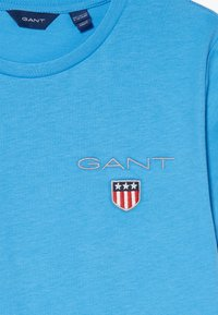 GANT - MEDIUM SHIELD  - Jednoduché triko - pacific blue - 3