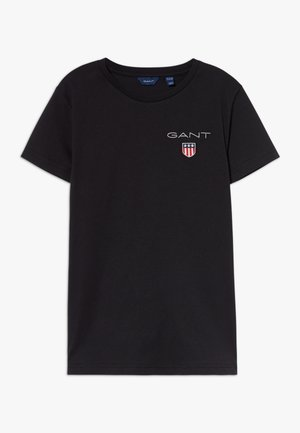 MEDIUM SHIELD  - T-shirt - bas - black
