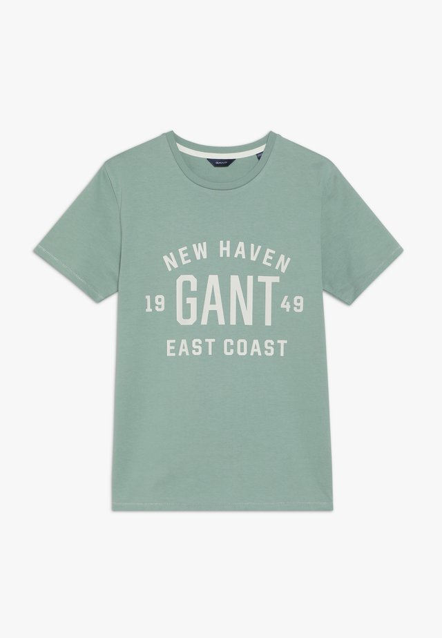EAST COAST - T-shirt med print - peppermint