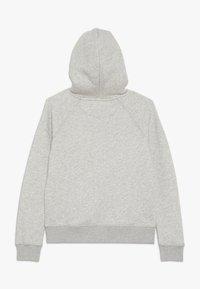 GANT - SHIELD LOGO HOODIE - Huppari - mottled light grey - 1
