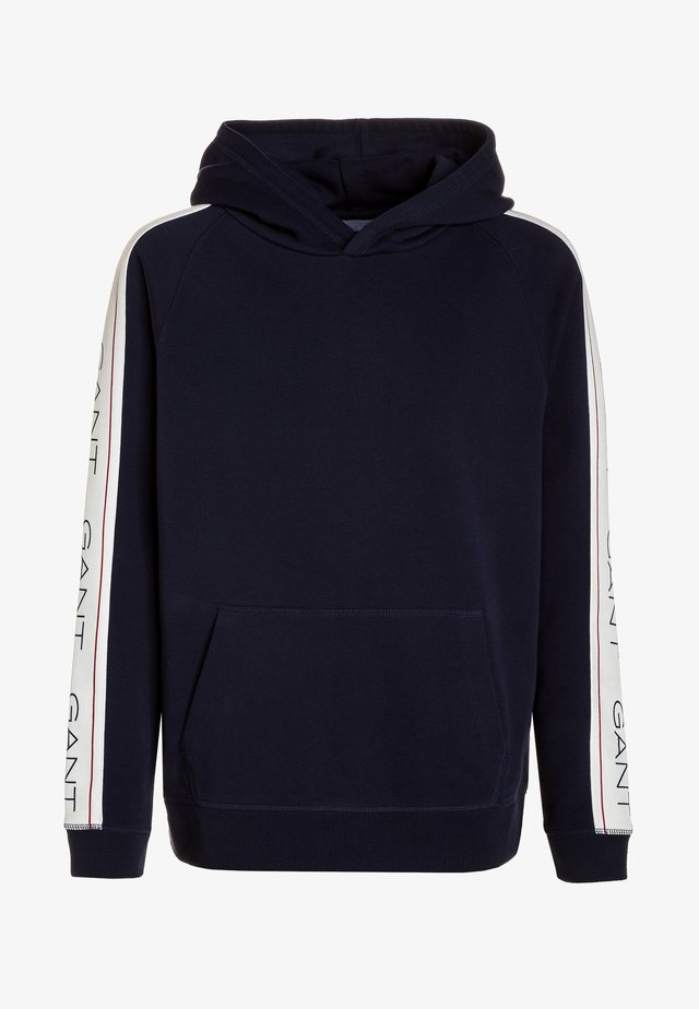 ICON HOODIE - Luvtröja - evening blue
