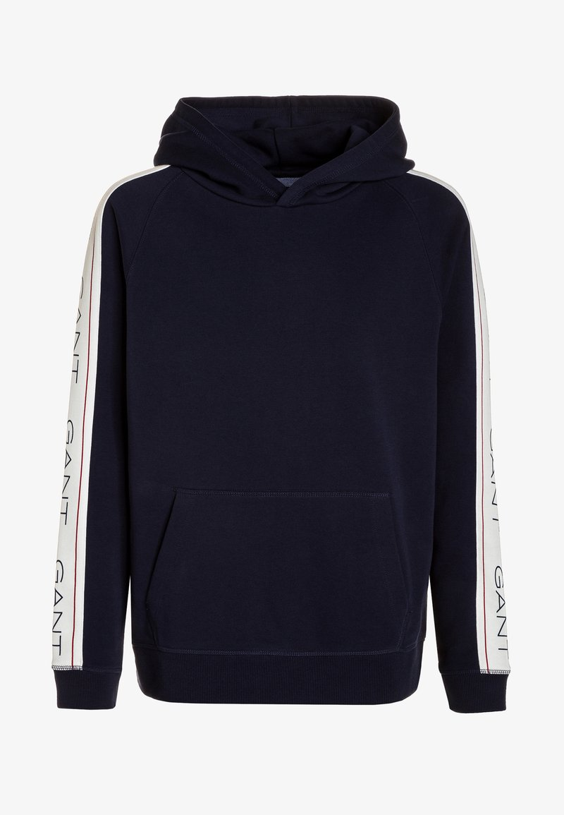 GANT - ICON HOODIE - Hoodie - evening blue