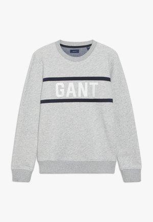 C-NECK - Sweater - light grey melange