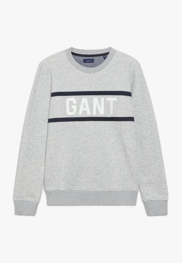 C-NECK - Sweatshirt - light grey melange