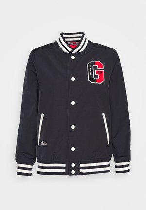 VARSITY JACKET - Giubbotto Bomber - evening blue