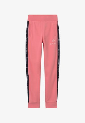 LOCK UP STRIPE - Pantaloni sportivi - strawberry pink