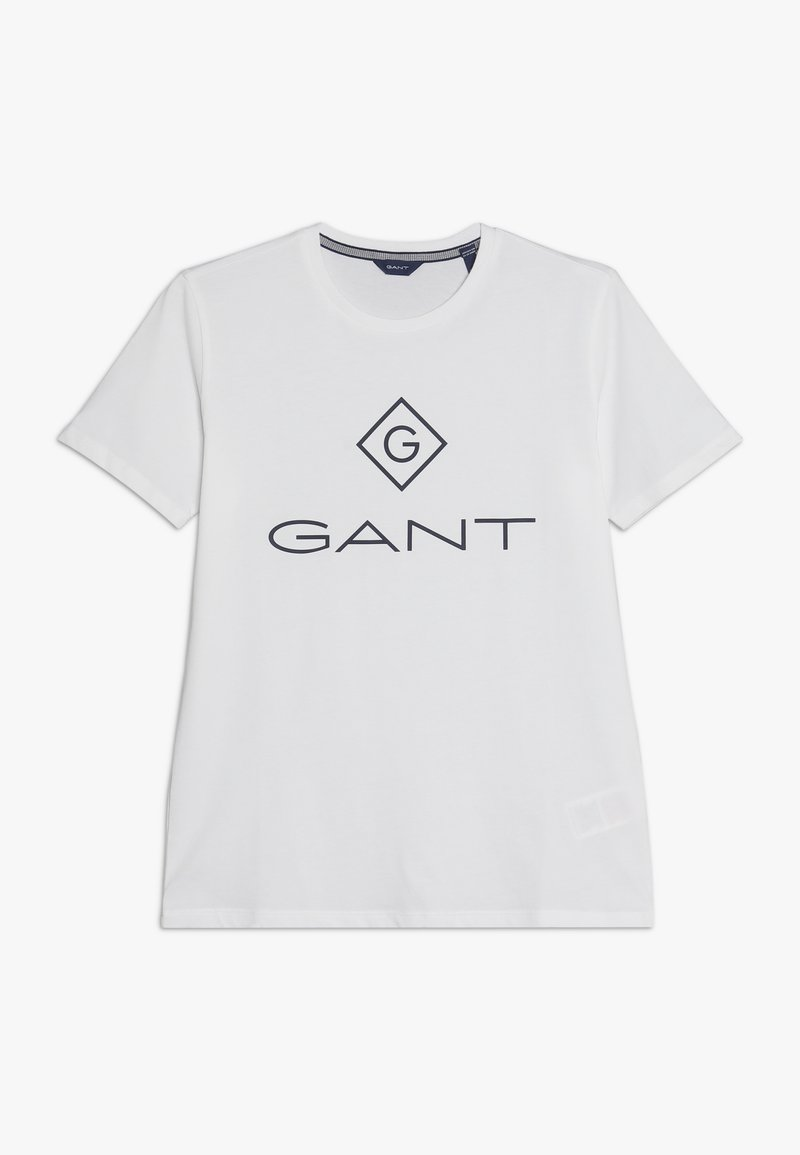 GANT - LOCK UP  - T-shirt med print - white