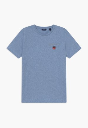 MEDIUM SHIELD - Jednoduché triko - frost blue