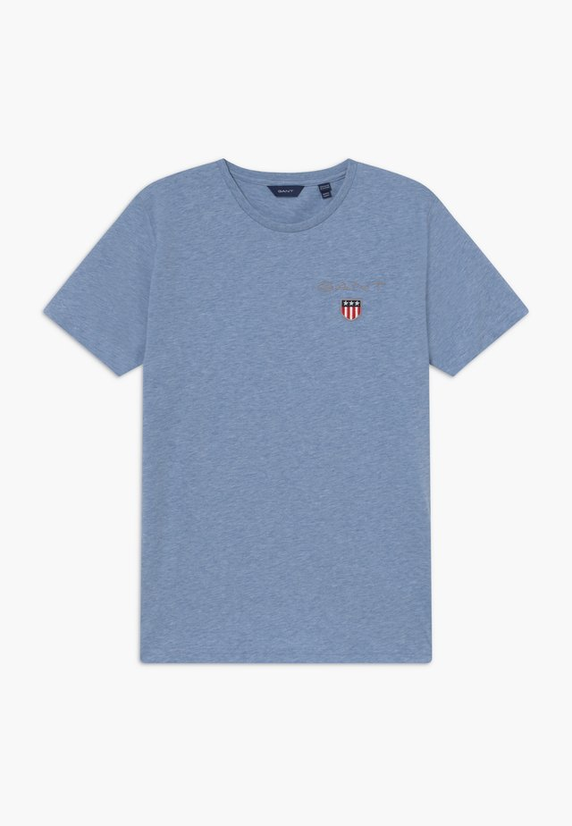 MEDIUM SHIELD - T-shirts basic - frost blue