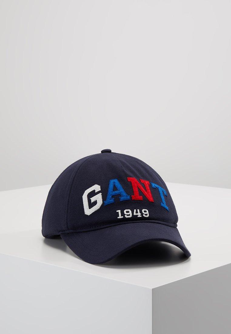 GANT - COLOR BLOCK - Czapka z daszkiem - evening blue