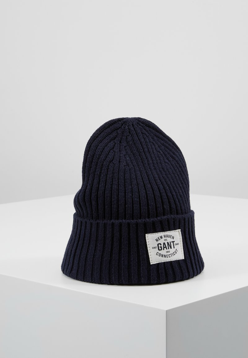 GANT - BEANIE - Mössa - evening blue