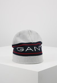 GANT - ARCHIVE BEANIE - Beanie - light grey melange - 0