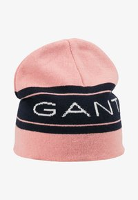 GANT - ARCHIVE BEANIE - Huer - summer rose - 1