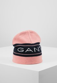 GANT - ARCHIVE BEANIE - Huer - summer rose - 0