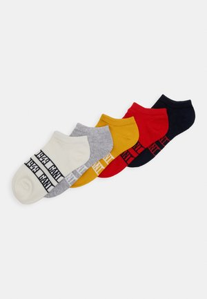 SNEAKER SOCKS 5 PACK - Ponožky - atomic orange