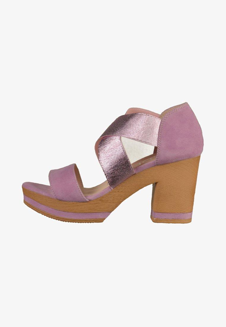 Gadea - Højhælede sandaletter / Højhælede sandaler - purple