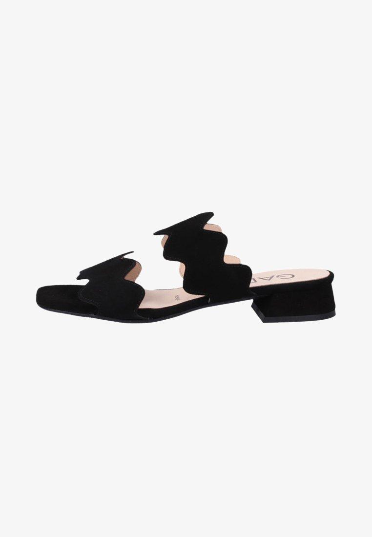 Gadea - Heeled mules - black