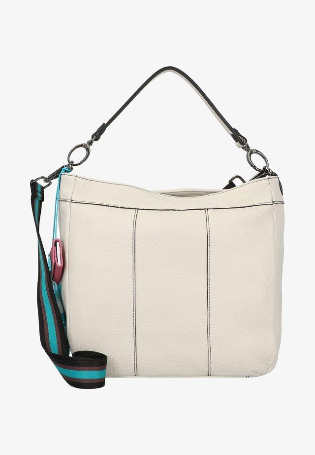 KATE M SCHULTERTASCHE LEDER 30 CM - Across body bag - panna