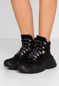 GARMENT PROJECT - Sneakers hoog - black - 0