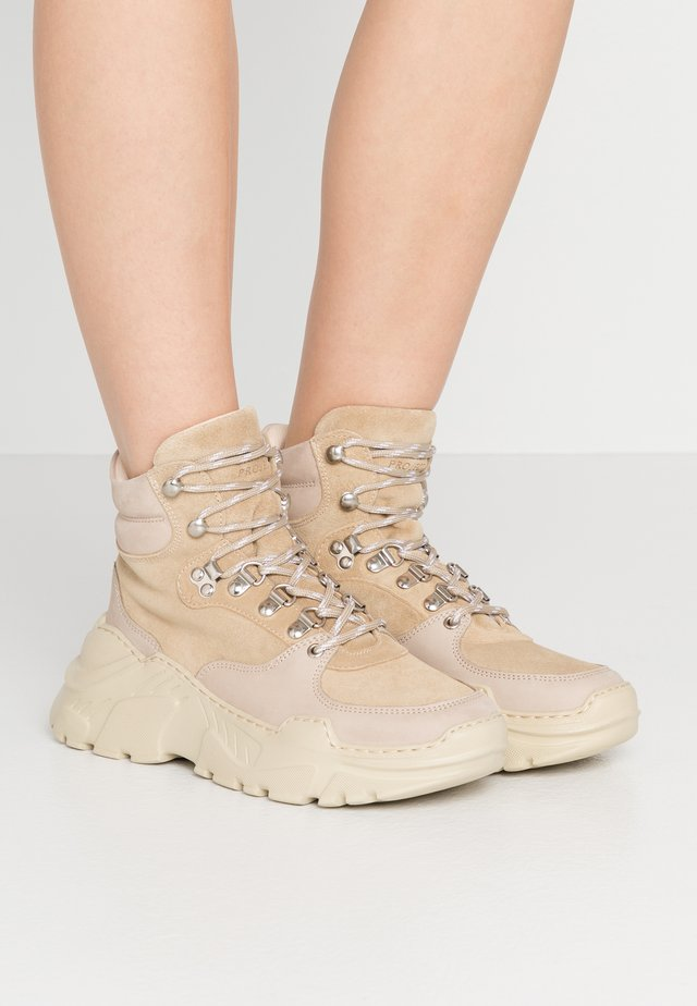 ZINA - Sneakers high - sand