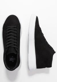 GARMENT PROJECT - EXCLUSIVE TYPE MID - Höga sneakers - black - 3