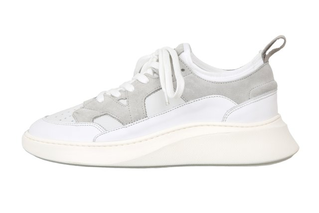 NEW YORK - High-top trainers - light grey