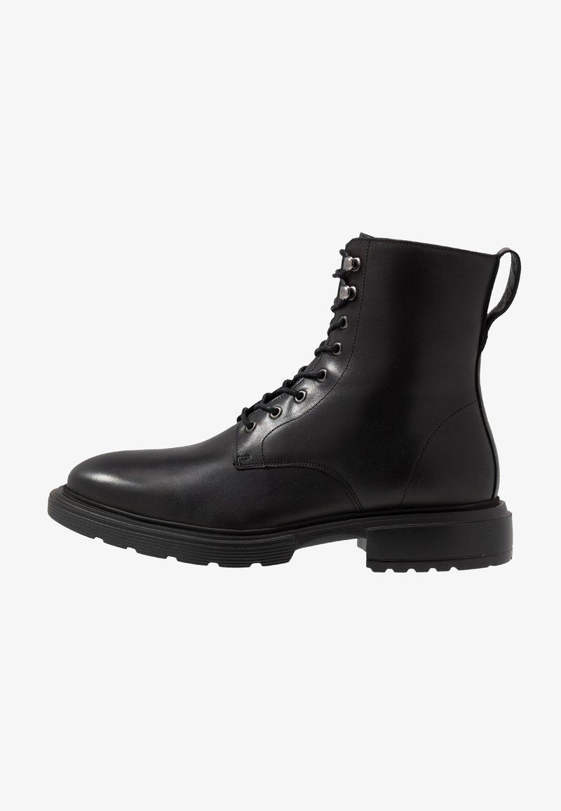 GARMENT PROJECT - MILI LACE BOOT - Botines con cordones - black