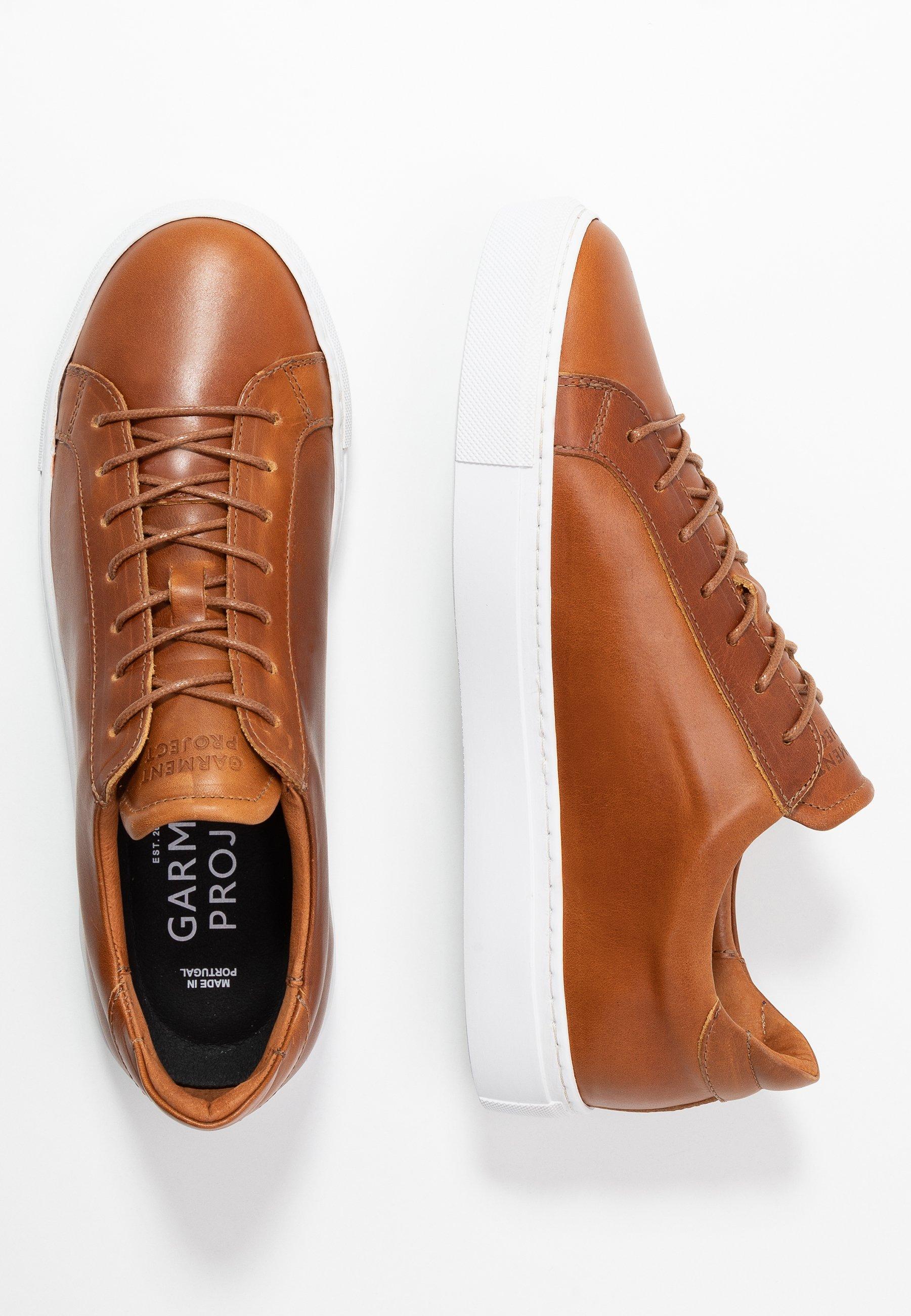 GARMENT PROJECT TYPE - Sneakersy niskie - cognac