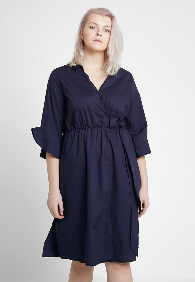 Gabrielle by Molly Bracken - WRAP DRESS - Vardagsklänning - navy blue