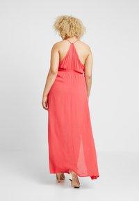 Gabrielle by Molly Bracken - EMBROIDERED CHANNEL WAIST DRESS - Hverdagskjoler - coral - 2