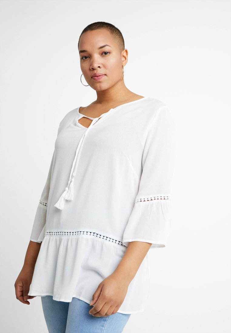 Gabrielle by Molly Bracken - DROP HEM - Tunika - offwhite