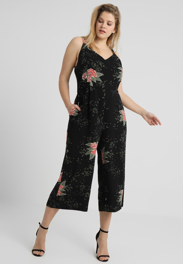 Gabrielle by Molly Bracken - FLORAL PRINT  - Overall / Jumpsuit - black