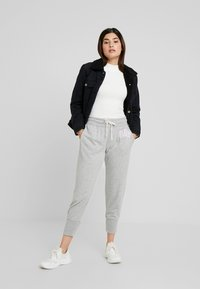 GAP Petite - Pantalon de survêtement - light heather grey - 1