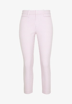 ANKLE BISTRETCH  - Bukser - pink gingham