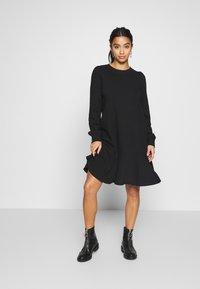GAP Petite - Day dress - true black - 1