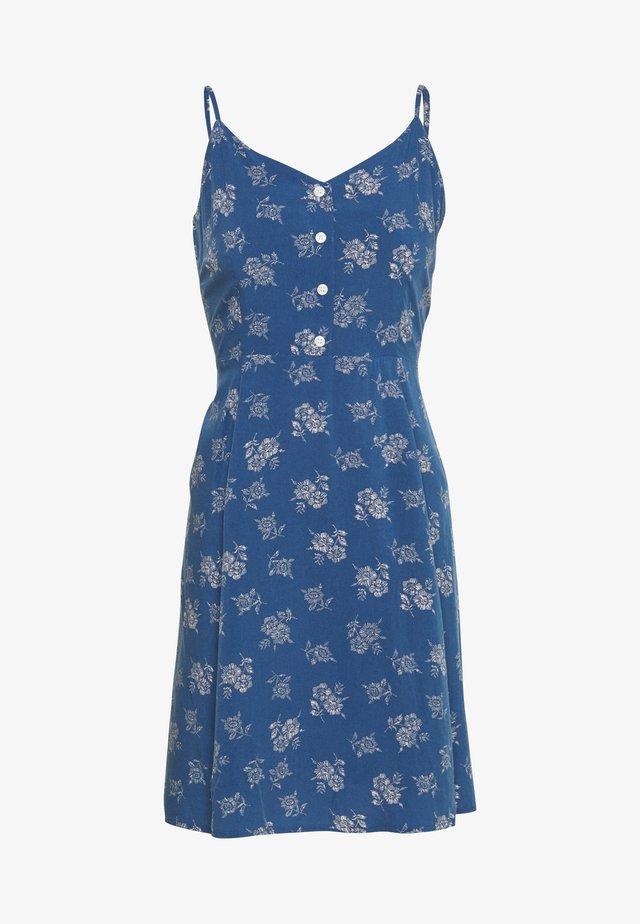 CAMI PETITE - Korte jurk - blue