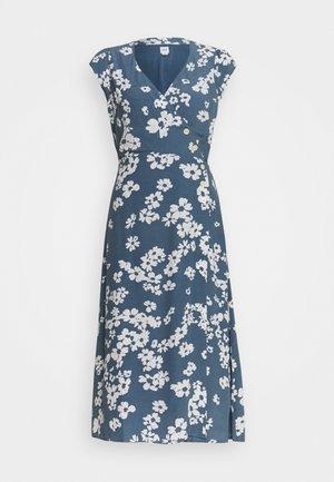 SIDE WRAP - Vapaa-ajan mekko - blue