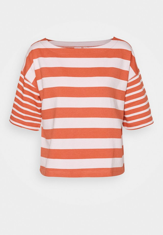 MARINER TEE - T-shirt med print - pink