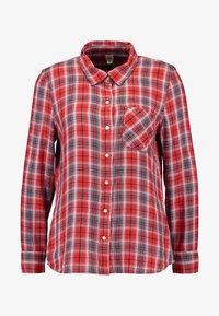GAP Petite - DRAPEY PLAID - Overhemdblouse - red/blue - 4